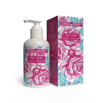 CBD Body Lotion Hyd Rose (250mg)
