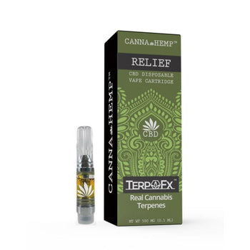 CBD Vape Cartridge - Relief (200mg)
