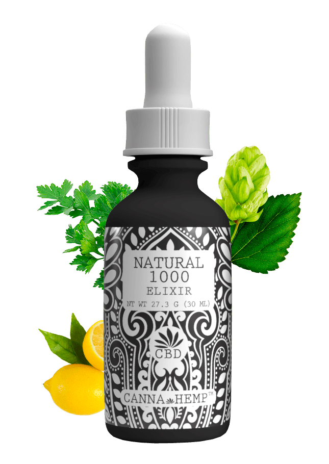 CBD Elixir Natural 1000 (1000mg)