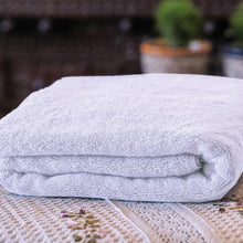 Load image into Gallery viewer, Kheda Luxury Bath Towel WHITE