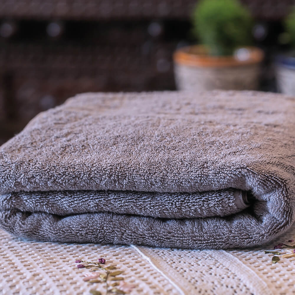 Salem Luxury Bath Towel GREY
