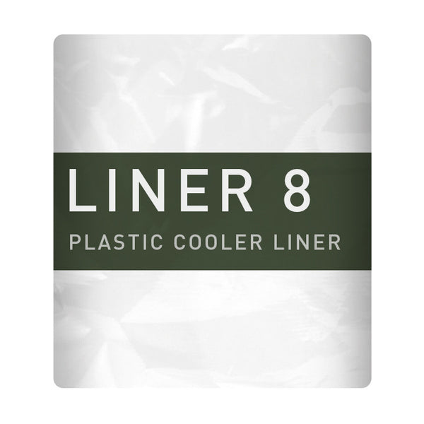 Liner 8 prevents dirty coolers/ice chests