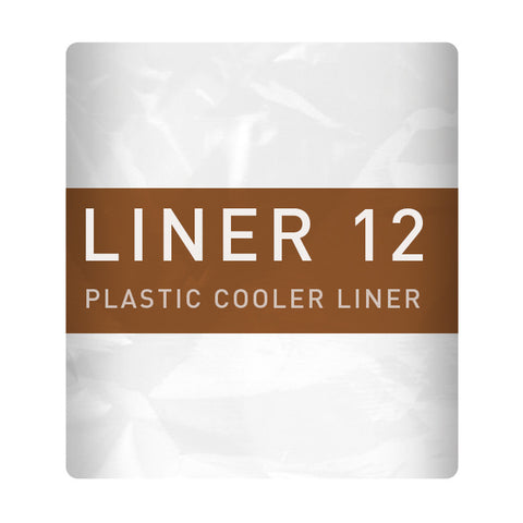 Liner 12 Plastic sheet to protect coolers