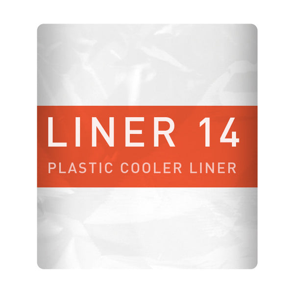 Liner 14 keeps coolers from the gooey