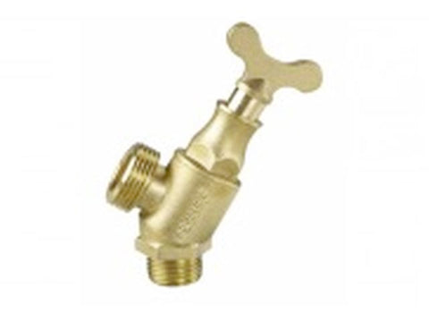 Brass Hose Tap Male Locksheid15mm
