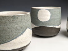 "Load image into Gallery viewer, ""Winter moon"" stoneware cup"