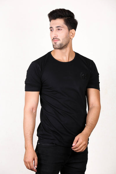 CP T-Shirt For Men Black