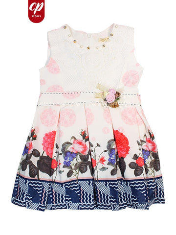 Cut Price Elegant Frock for Girls Epic Red