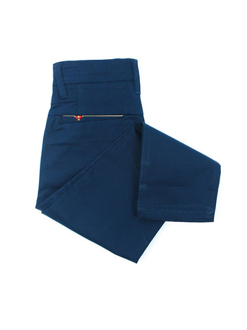 5 Yrs - 16 Yrs Cotton Chino For Boys Dark Navy Blue