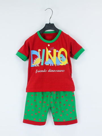 AKC Kids Suit 1 Yrs - 4.5 Yrs Printed DINO