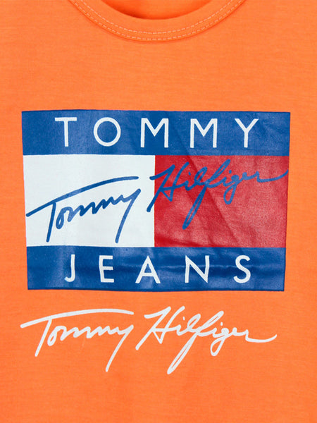 AK1 Boys T-Shirt 2 Yrs - 10 Yrs Printed Tommy Orange