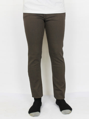 Power Stretch Jeans for Men Brown