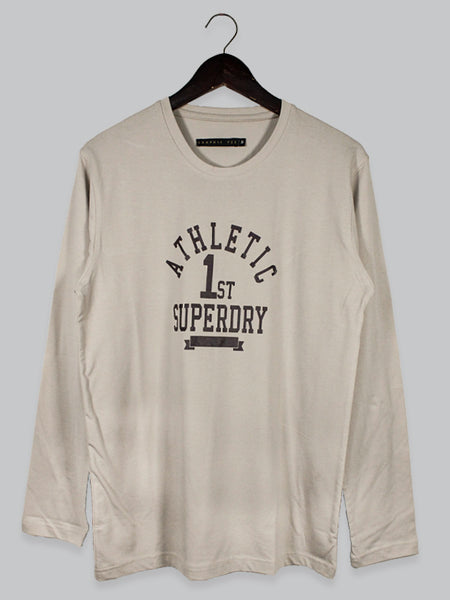 GT T Shirt for Men FS Superdry Brown