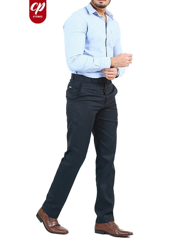 Cut Price Dress Pant Trouser Formal For Men Black Blue