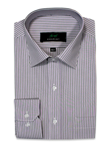 Formal Dress Shirt For Men Lining Black