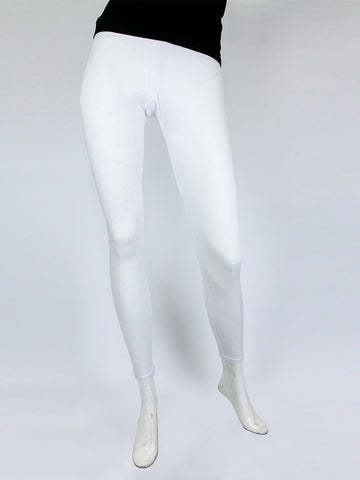 Tights For Women Plain White