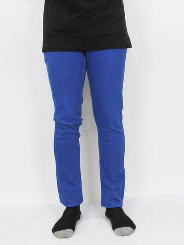 Power Stretch Jeans for Men Azure Blue