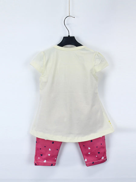 AKC Baby Suit 1 Yr - 4 Yr Printed MEOW Light Yellow