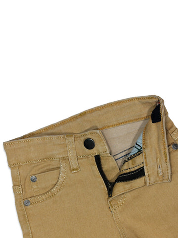 Stretchable Jeans For Girls 3Yrs - 11Yrs Light Brown