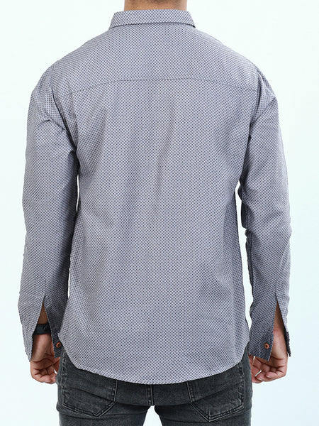 Casual Shirt for Men Printed Lilac Purple
