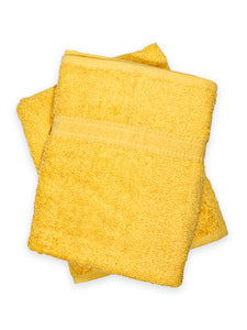 Bath Towel (50*25) Pack of Two Bright Yellow