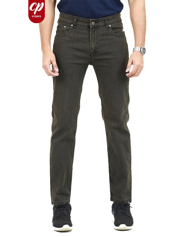 Cut Price Stretchable Jeans For Men Pecan Brown