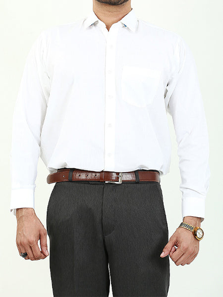Formal Dress Shirt for Men White