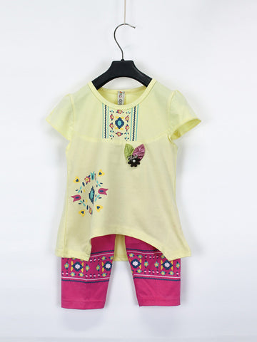 AKC Baby Suit 1 Yr - 4 Yr Printed LOVE Sharp Yellow
