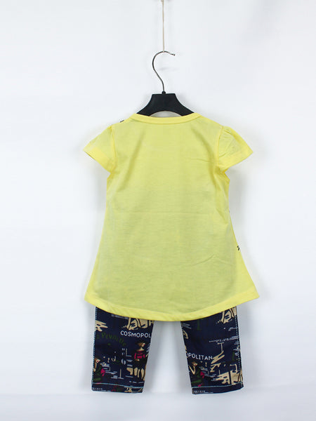 AKC Baby Suit 1 Yr - 4 Yr Sequins CAT Bright Yellow
