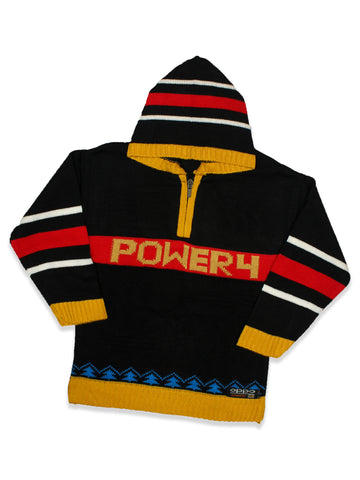 Kids Sweater 5Yr - 9Yr Hoodie Power Black