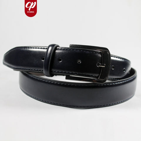 Cut Price Faux Leather Style Belt for Men X1 Black