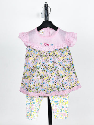 MB Girls Suit 1 Yr - 4 Yr Printed Floral