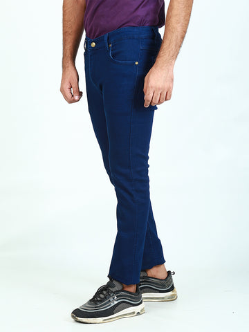 Power Stretch Jeans for Men Denim Blue