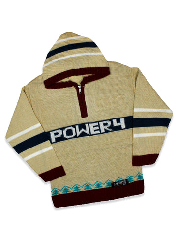 Kids Sweater 5Yr - 9Yr Hoodie Power Brown