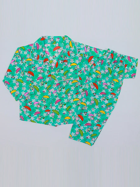 Cotton Night Suits 2 YR - 6 YR UM Mint Green