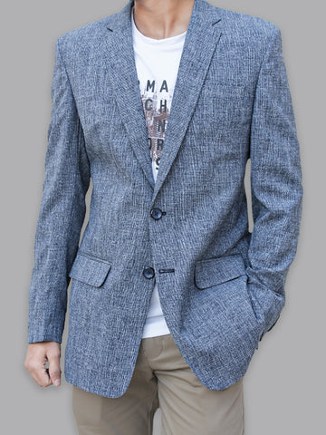 Casual Coat Blazer for Men 814 Sharp Blue