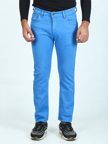 Power Stretch Jeans For Men Sky Blue