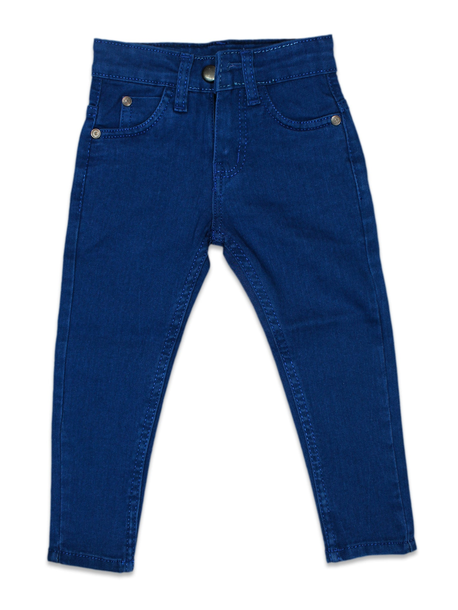 Stretchable Jeans For Girls 3Yrs - 11Yrs Royal Blue