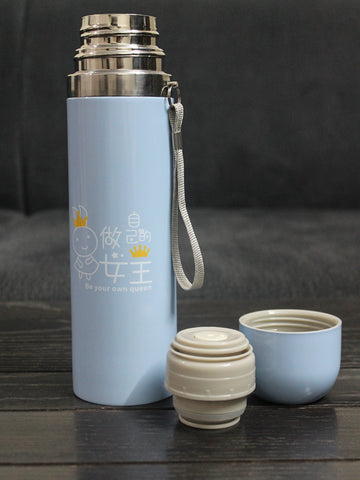 Stainless Steel Vacuum Bottle Sky Blue