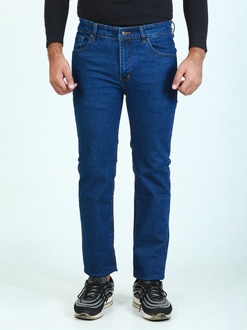 Stretchable Jeans For Men Denim Blue
