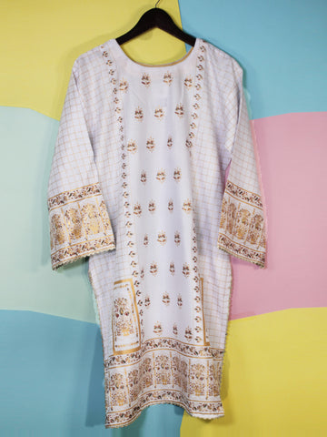 Kurti for Women Printed E1 White