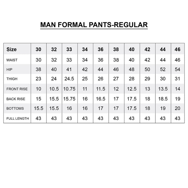 Dress Pant Trouser Formal for Men 428 Royal Black