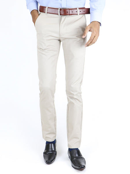 Cotton Chino Pant For Men Ash Fawn