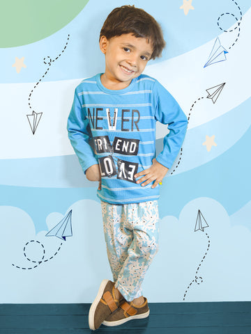 0007 Kids Suit 2Yr - 4.5Yr Never Blue
