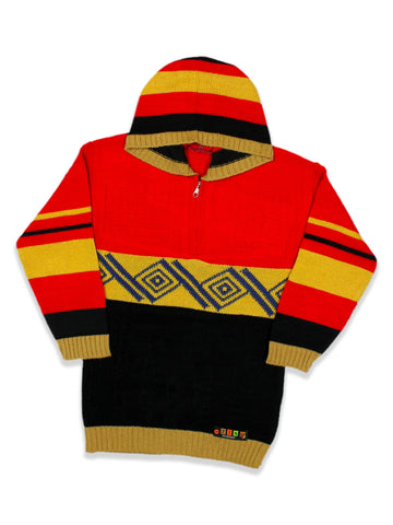 Kids Sweater 5Yr - 9Yr Hoodie Clown Red