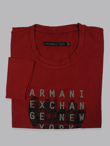 GT T Shirt for Men FS Exchange Bright Red