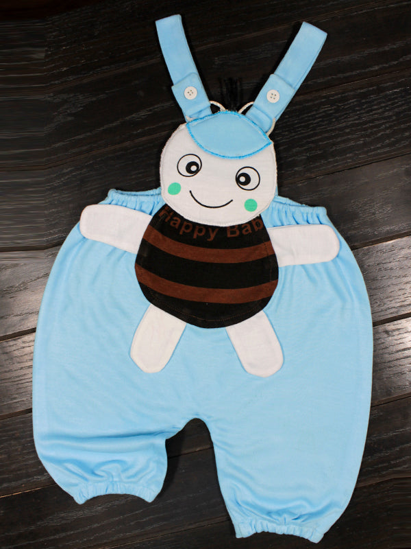 Romper for New Born 1Mth - 8Mth Bee Aqua Blue