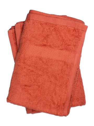 Super Absorber Bath Towel (24*48) Pack of Two Rust