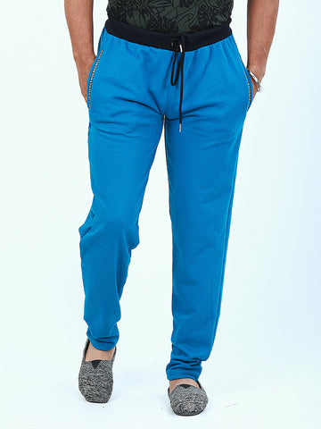 Casual Terry Trouser for Men Sapphire Blue