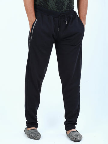 Casual Terry Trouser for Men Black